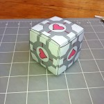 The business card companion cube