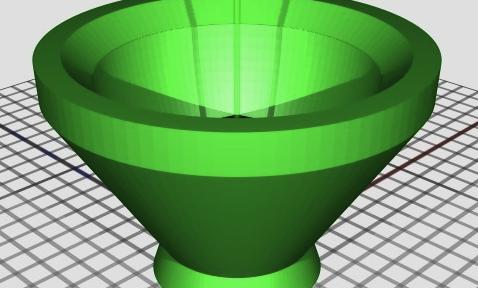 The little bowl I designed & printed
