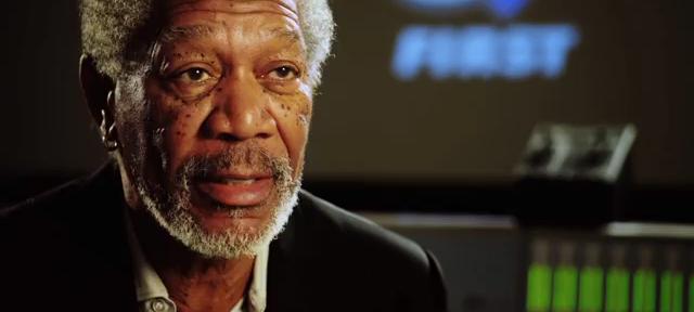 Morgan Freeman encourages teens to build a robot army [video]