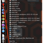The one annoyance of a side-pinned OS X dock