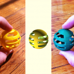 From Atoms to Bits to Atoms: A Cat Toy's Journey