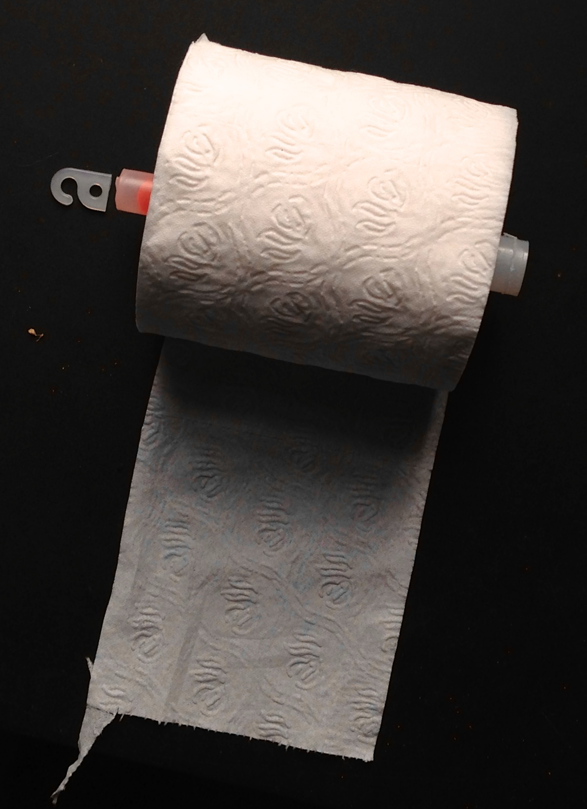 Toilet Tissue Should be Hung Under not Over