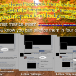 """Silencing """"those"""" Facebook friends"""
