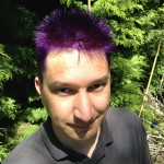 Why is your hair purple?