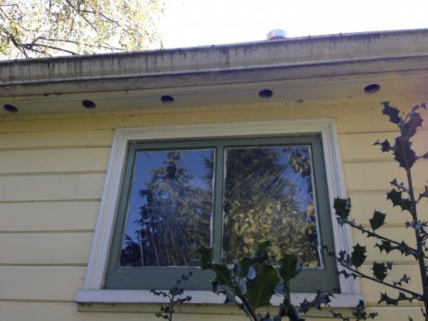 attic vent holes