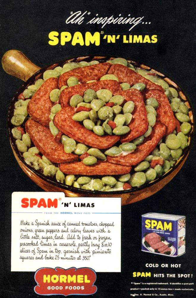 Yep I Made Those Spam N Limas Netninja Com