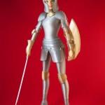 3D Printed Medieval Barbie Armor