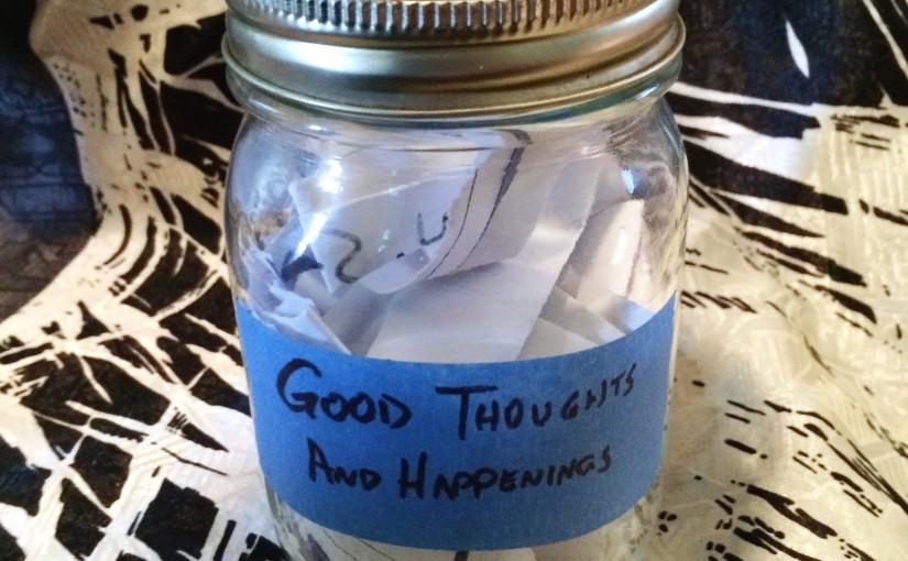 A mason jar of happiness