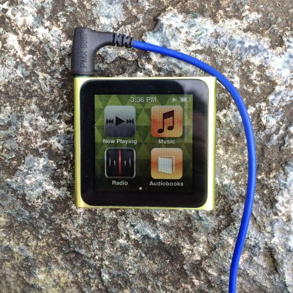 My Trusty Green iPod Nano