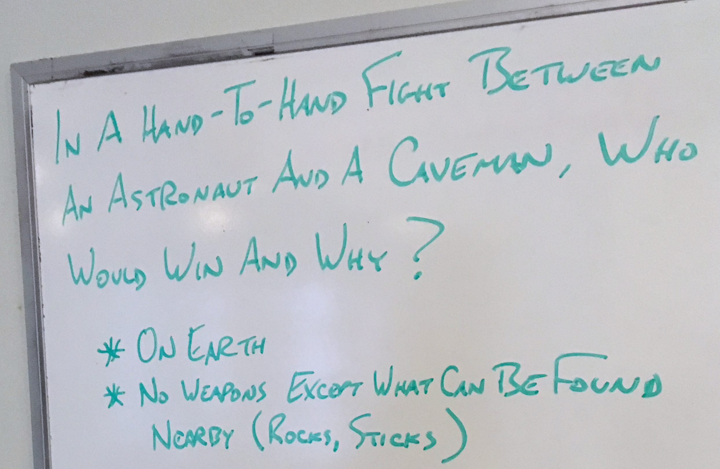 Caveman Questions : Unconscious sexism in the workplace u2013 netninja.com