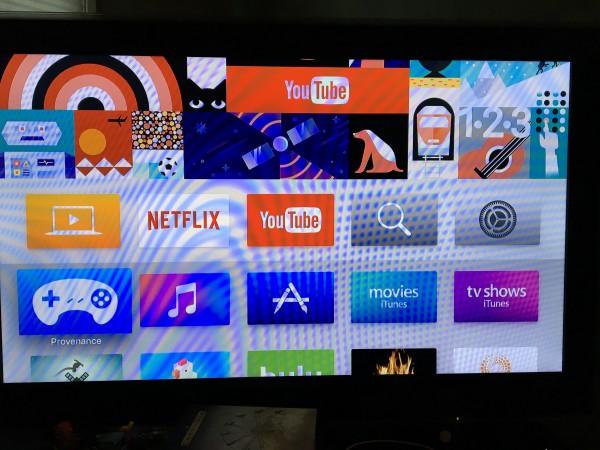 Provenance on the Apple TV home screen