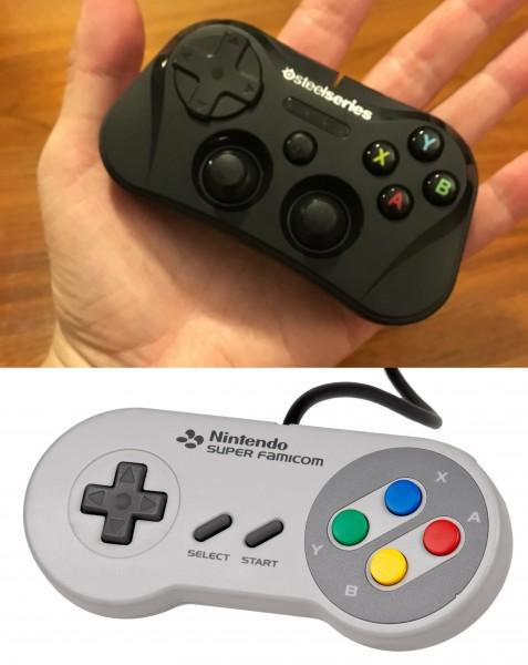 Controller comparison.