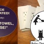 Evil Prank Stickers