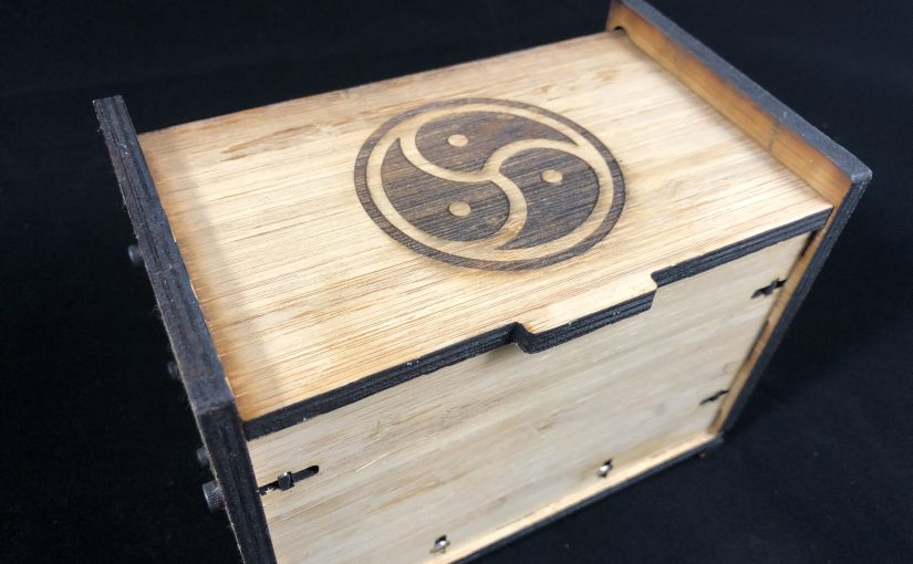 A Laser Cut Index Card Box