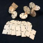 Locky: The Laser-Cut Tile Construction Set