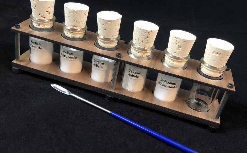 Experiments With Mineral Water …With Lasers