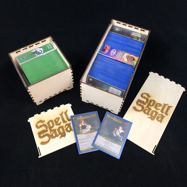 Spell Saga, in a box