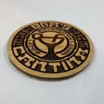 Laser-Cutting Cantina Coasters
