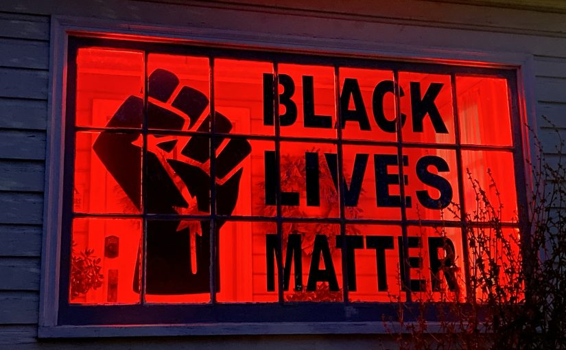 Black Lives Matter Vinyl Window Decal