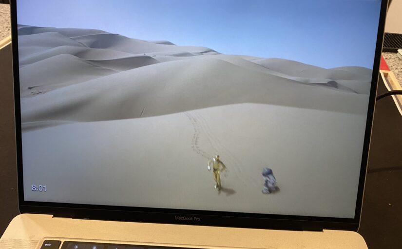 Using Star Wars Biomes as a Screensaver